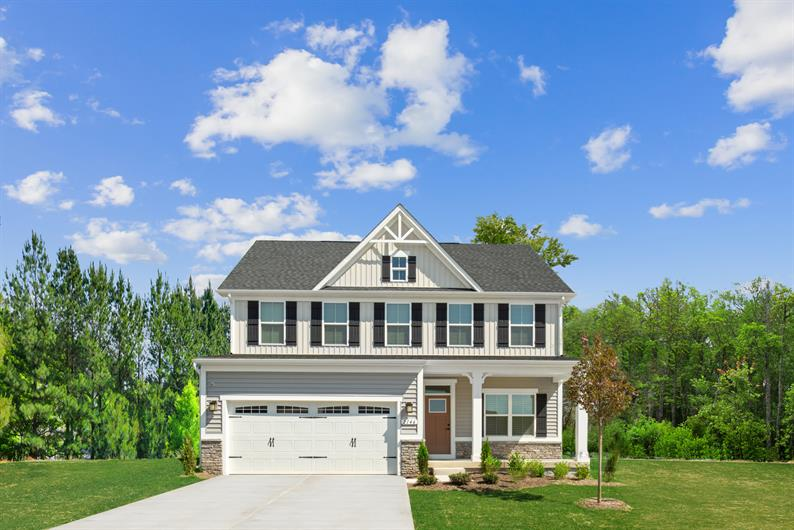 Upgraded exterior elevations ensure top notch curb appeal
