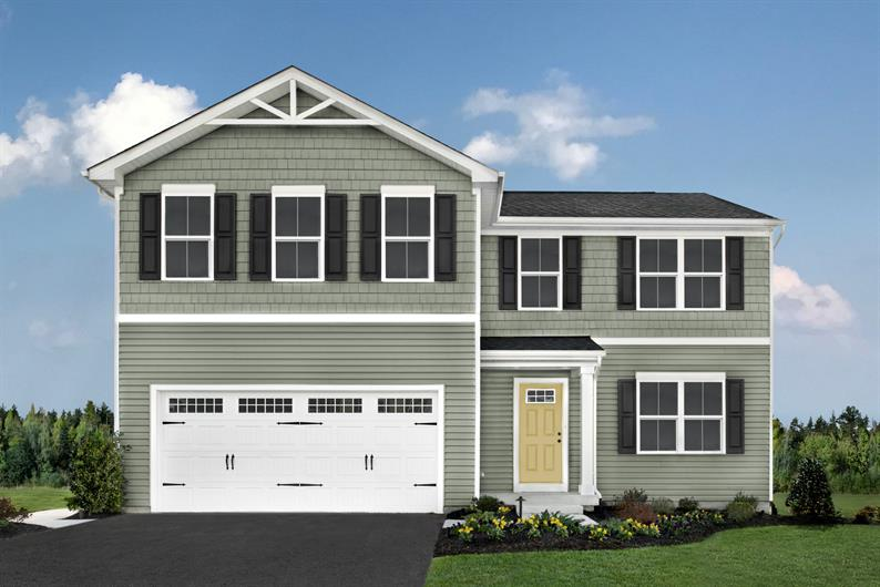 2-CAR GARAGE FOR PARKING AND STORAGE