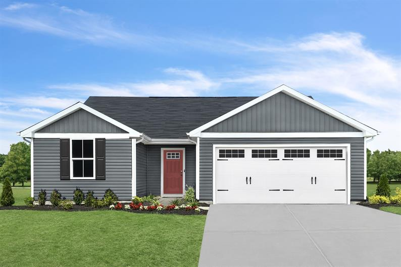 OPEN CONCEPT RANCH LIVING WITH INCLUDED 2-CAR GARAGE
