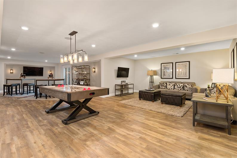 THE SPACE YOU NEED IN A FINISHED BASEMENT