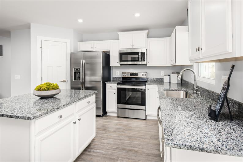 The gourmet kitchen of your dreams.