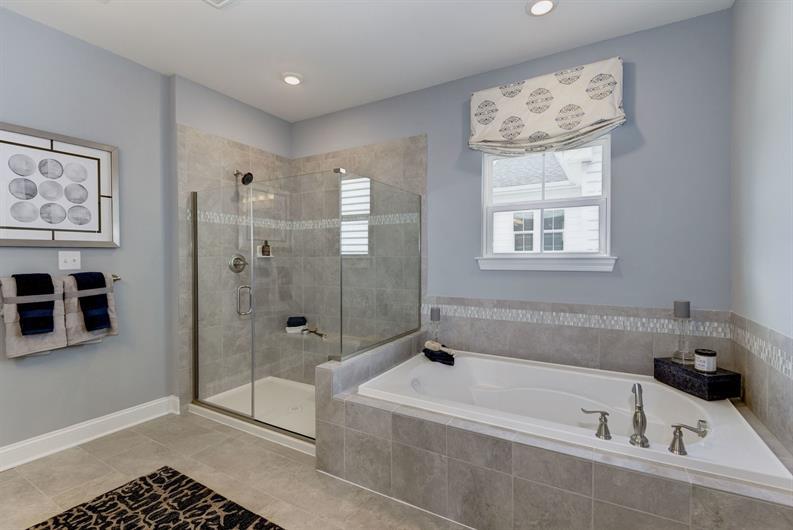 Enjoy luxury bathrooms you won't find in older city homes