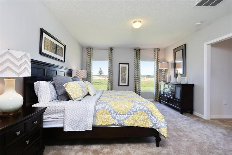 Relax In Your Spacious Owner's Suite