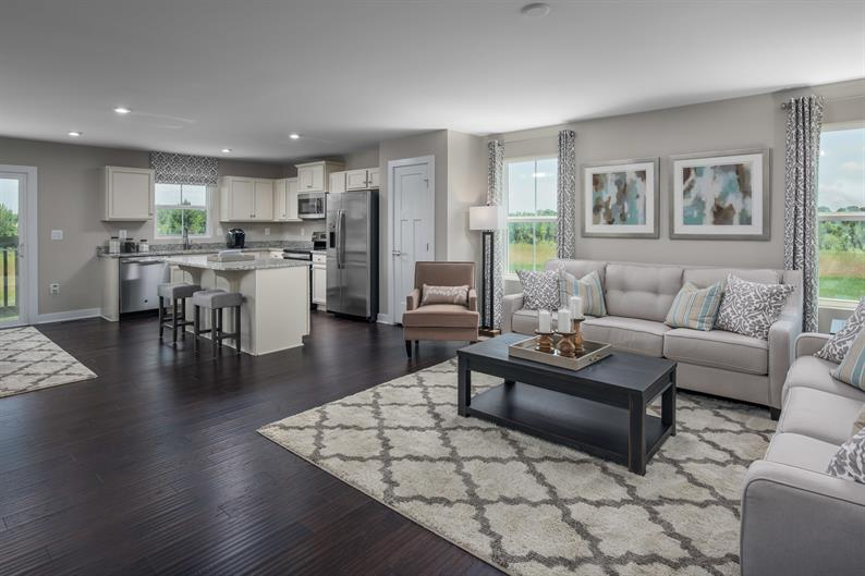 Never Miss a Moment with Family and Friends in Your Open Concept Floorplan
