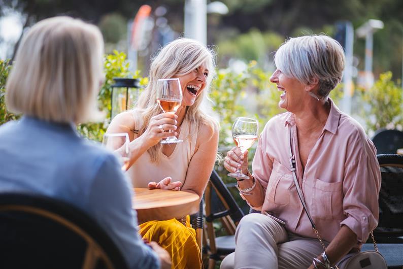 Vineyard inspired planned community amenities