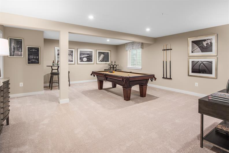 FANTASTIC BASEMENT FINISHES FOR MORE ENTERTAINING SPACE