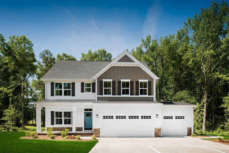 Optional 3-car garage or side-entry garage