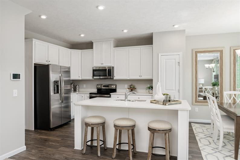 Updated Kitchens with Modern Finishes Included