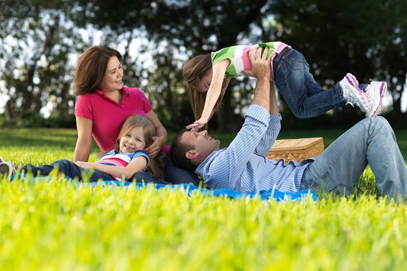 Grab the family for a picnic at the park