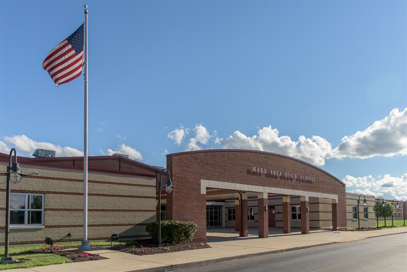 highly ranked Mars Area School District