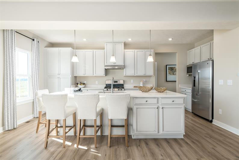 FAIRWINDS OFFERS SPACIOUS & GOURMET KITCHENS