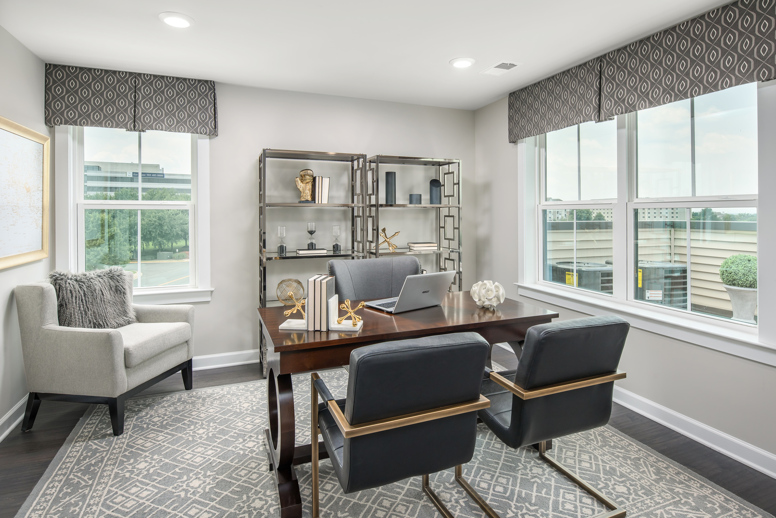 Our flexible floorplans offer rec rooms, studies, or extra bedrooms.