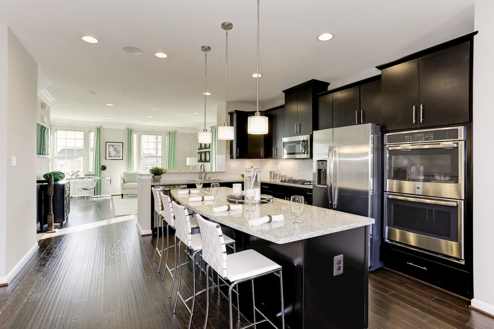 Stainless steel appliances and granite counter tops are included allowing you even more ways to tailor your home to your tastes.
