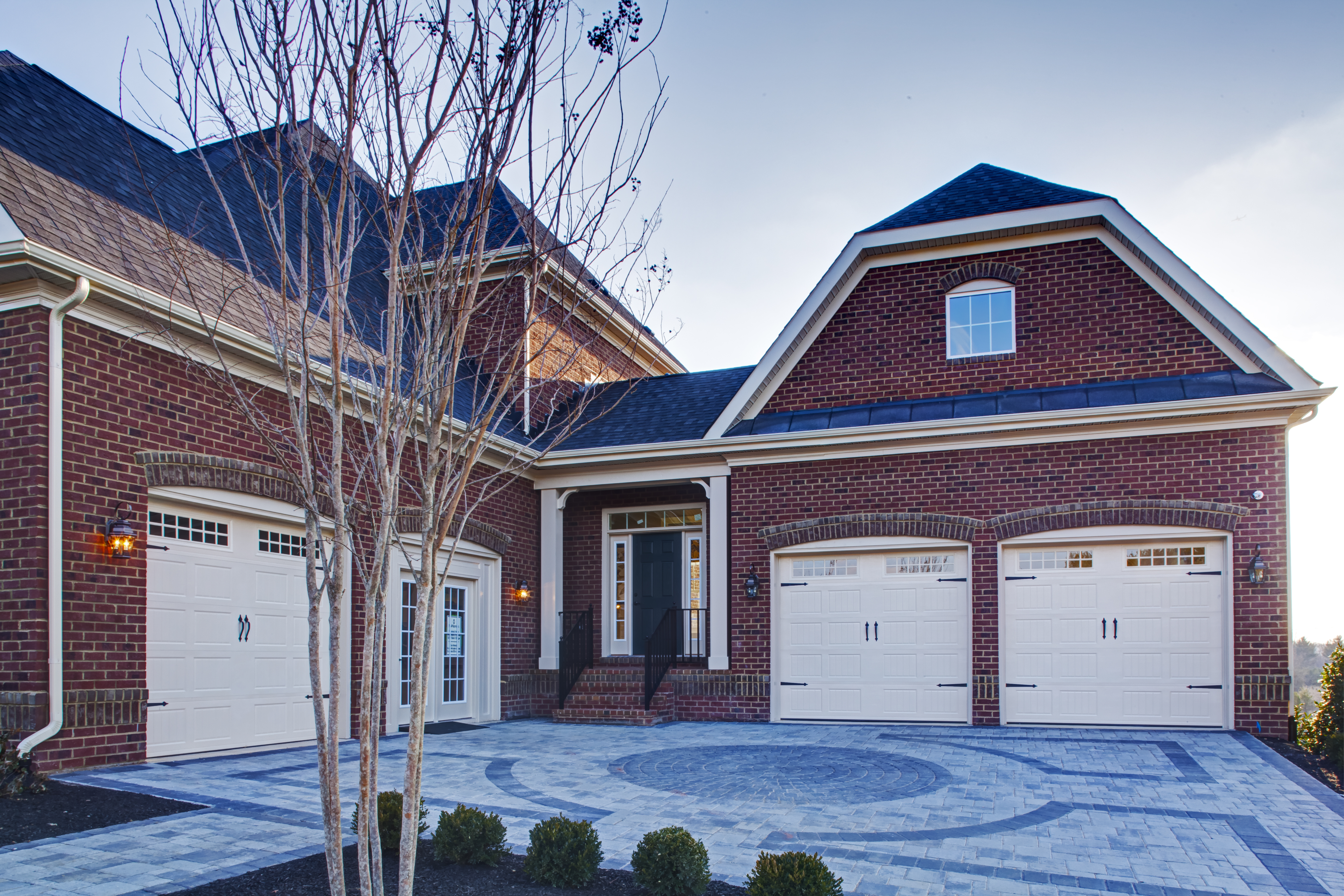 Homes in this community can come with up to a 4 car garage.