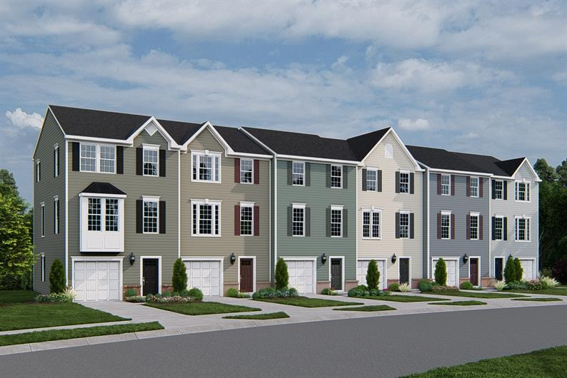 Affordable 3-story townhomes close to Duke, RTP & UNC. From the $270s