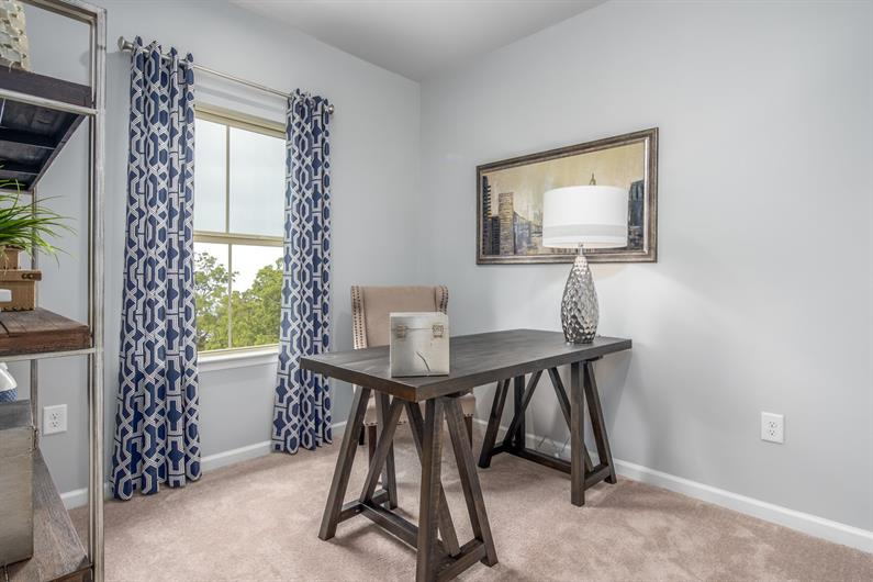 MORE SPACE FOR GUESTS OR A HOME OFFICE