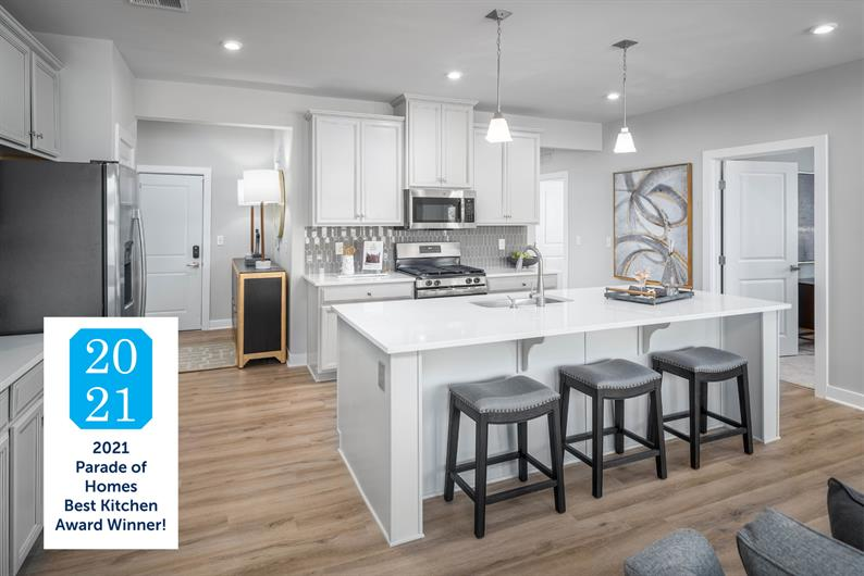 2021 Parade of Homes Best Kitchen Award