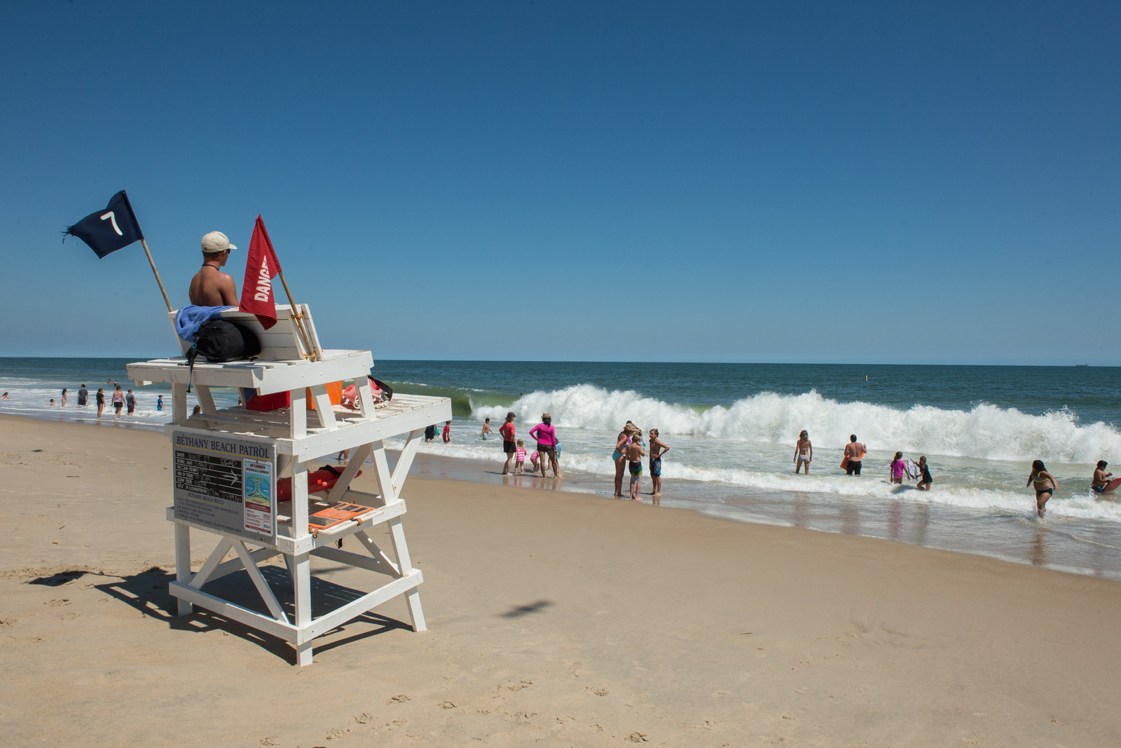 Bethany Beach is just 4 miles away from Bay Forest so the whole family can enjoy fun on the boards or the beach