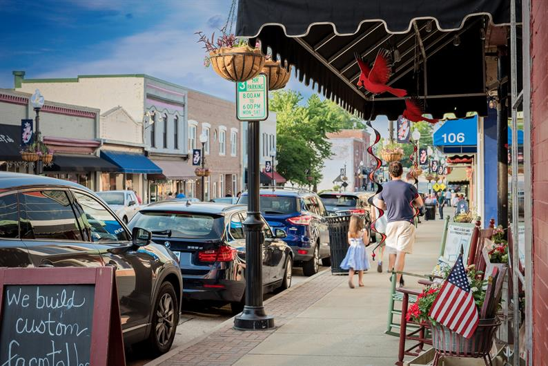 Pendleton's Historic Downtown is an ideal spot for a stroll!
