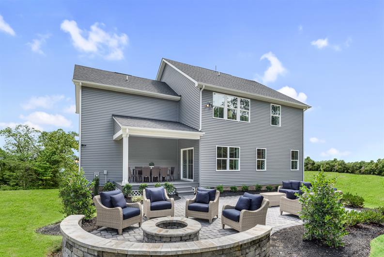 Imagine all of the backyard possibilities at Estates of London Grove