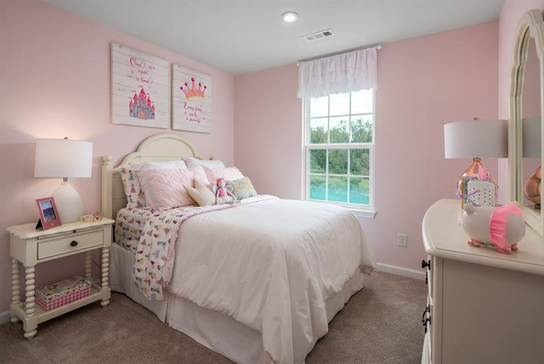 WITH UP TO 4+ BEDROOMS MEANS THE KIDS CAN HAVE THE ROOM OF THEIR DREAMS