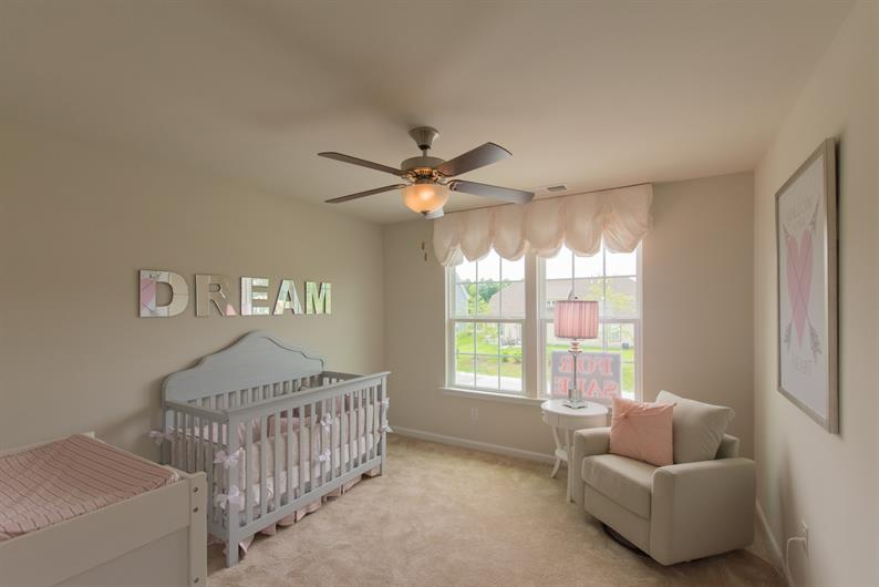 LARGE BEDROOMS, PERFECT FOR A NURSEY OR GUEST ROOM