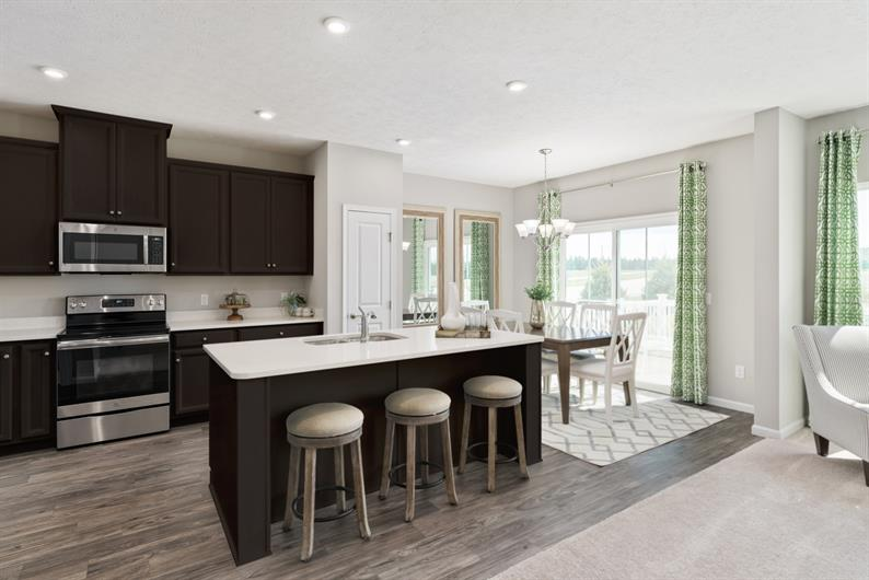 A Spacious Island Makes this Kitchen the Heart of Your Home