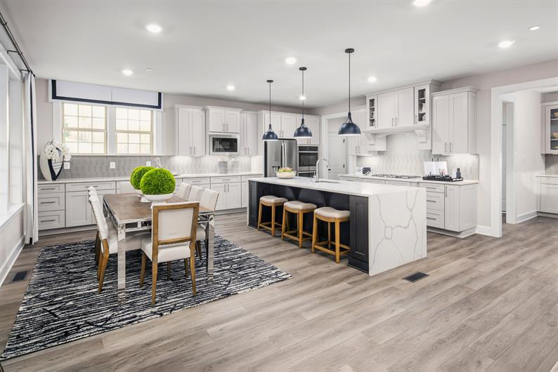 Chef's Kitchen with Ample Storage