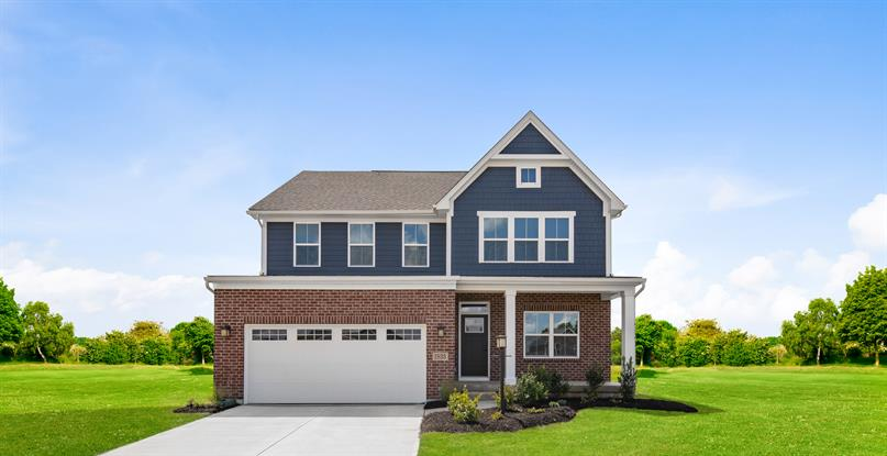 New 2-story and ranch homes in Waynesville Schools at The Legacy at Winding Creek