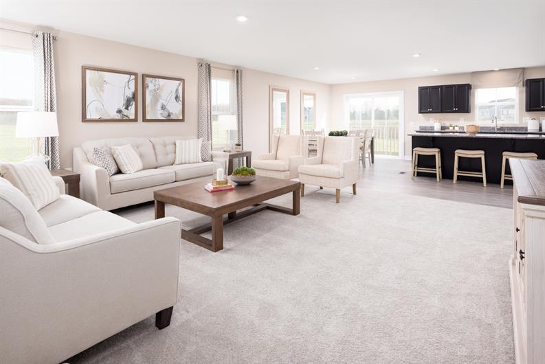 BRIGHT, OPEN FLOORPLANS PERFECT FOR THE WAY YOU LIVE