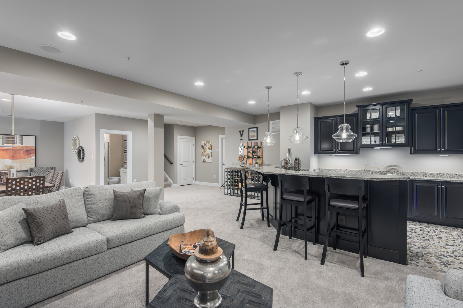 Your finished basement includes a full bath, and provides extra space! Click here to join the Priority List and take advantage of this incentive for VIPs only.
