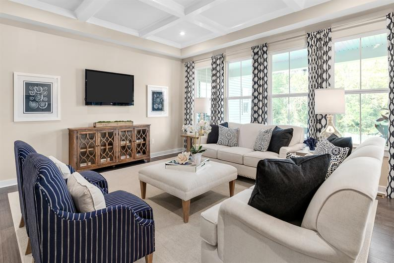 THOUGHTFULLY DESIGNED SPACIOUS INTERIORS