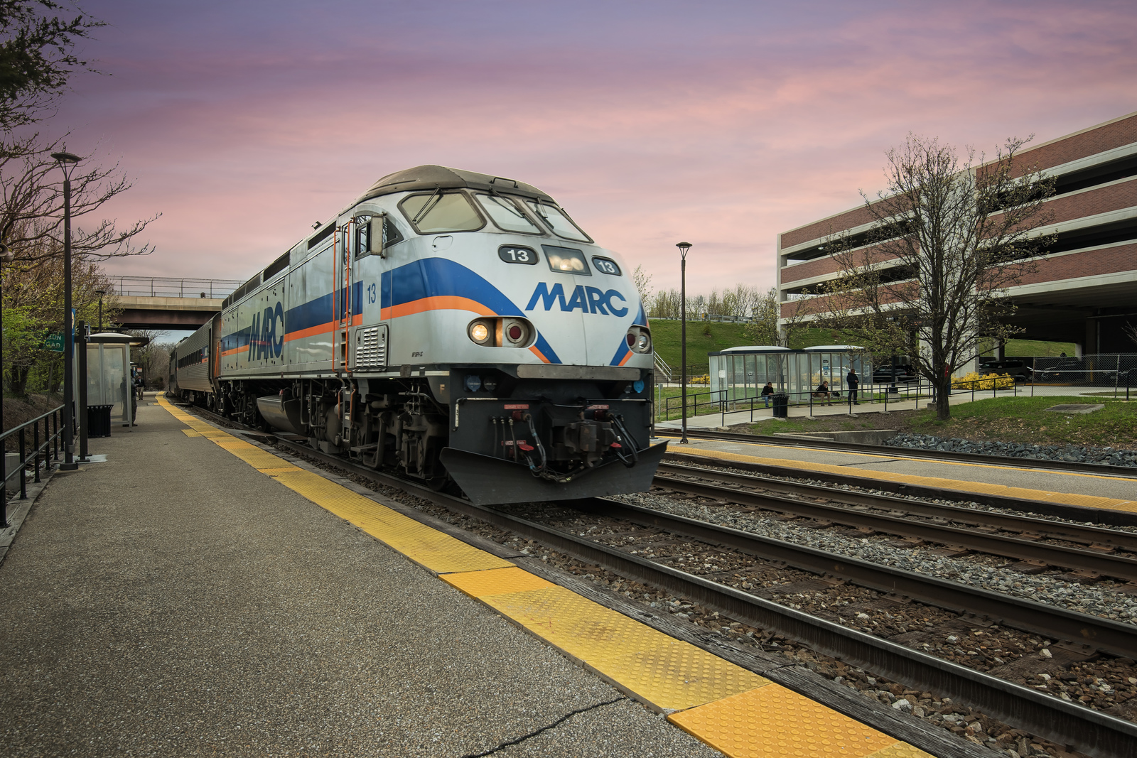 Take the MARC train for an easy commute to anywhere in the Baltimore area!