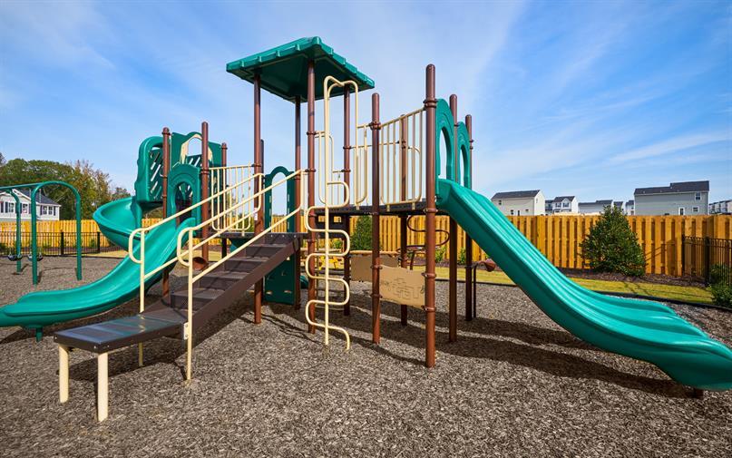 The kids will enjoy the community playground