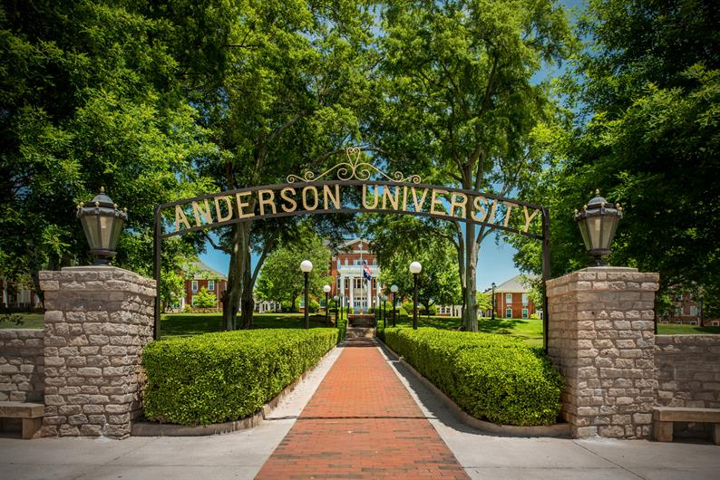 Anderson University is located less than 5 miles away
