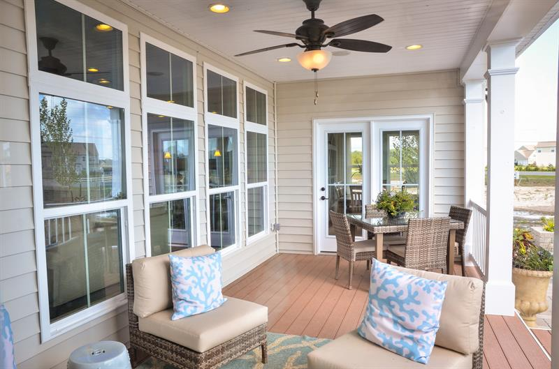 SCENIC VIEWS FROM YOUR OWN BACK DOOR WITH YOUR COVERED PORCH