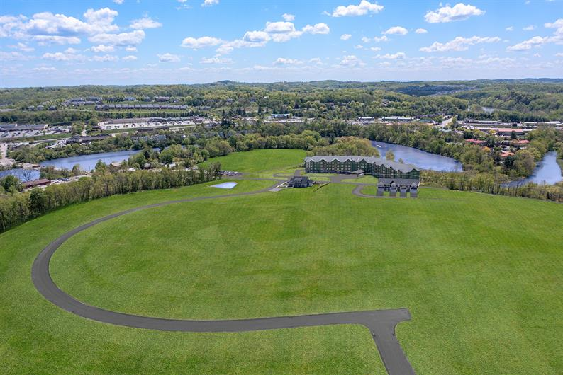 Luxury lakeside community offering low-maintenance ranch homes