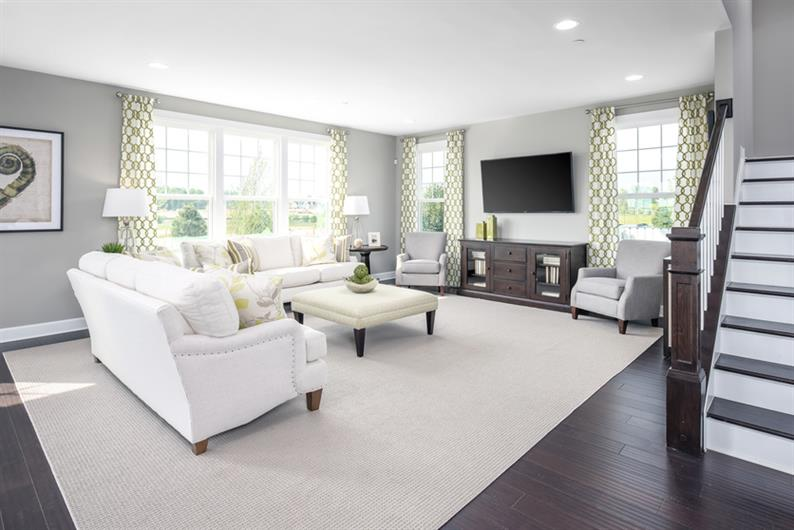 Retreat to Open Concept Living