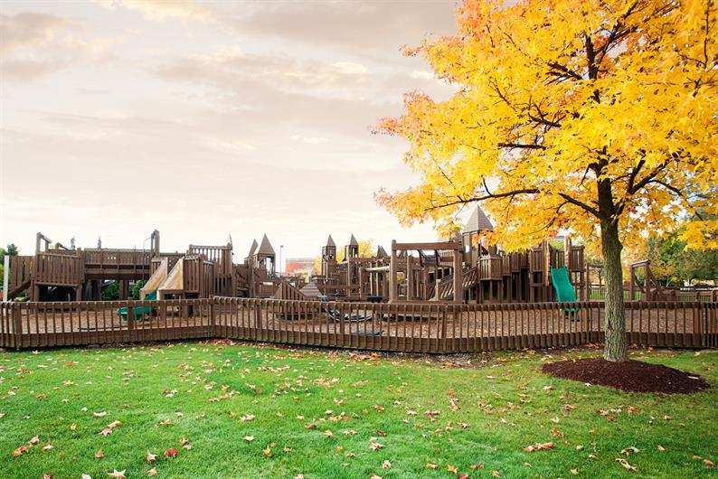 TAKE PLAYTIME TO THE NEXT LEVEL AT THE STRONGSVILLE CASTLE TOWN PLAYGROUND