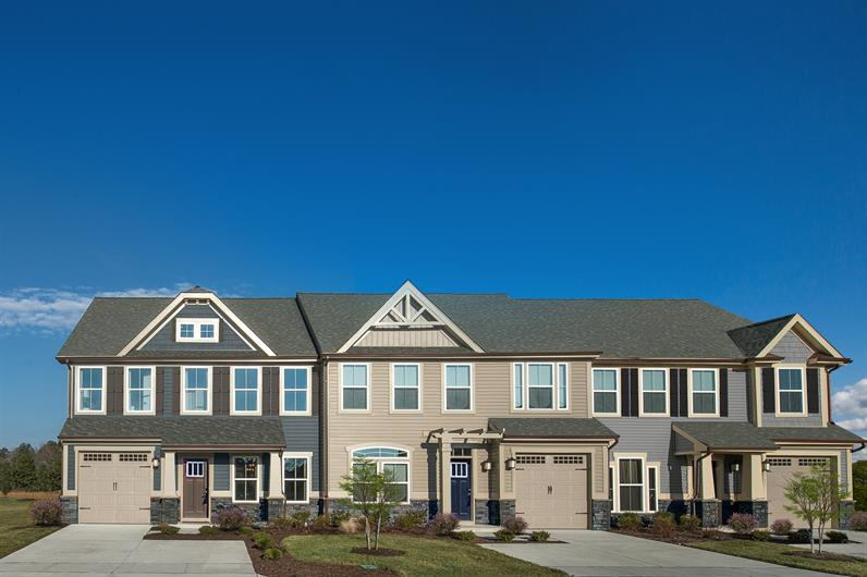 Own a new townhome with exterior maintenance included.