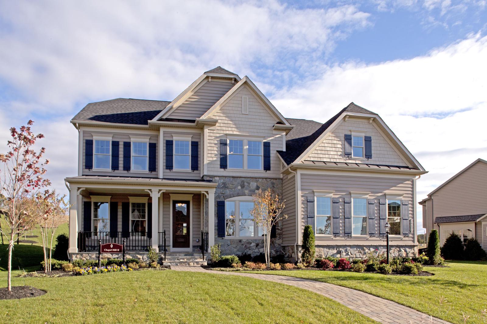 New Chapel Hill Ii Home Model For Sale Nvhomes