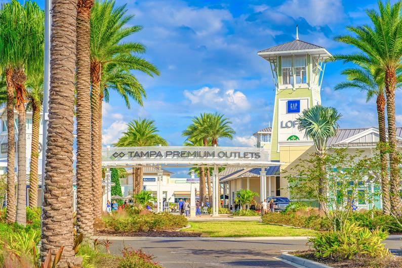 Shop til you drop at the Tampa Premium Outlet Mall