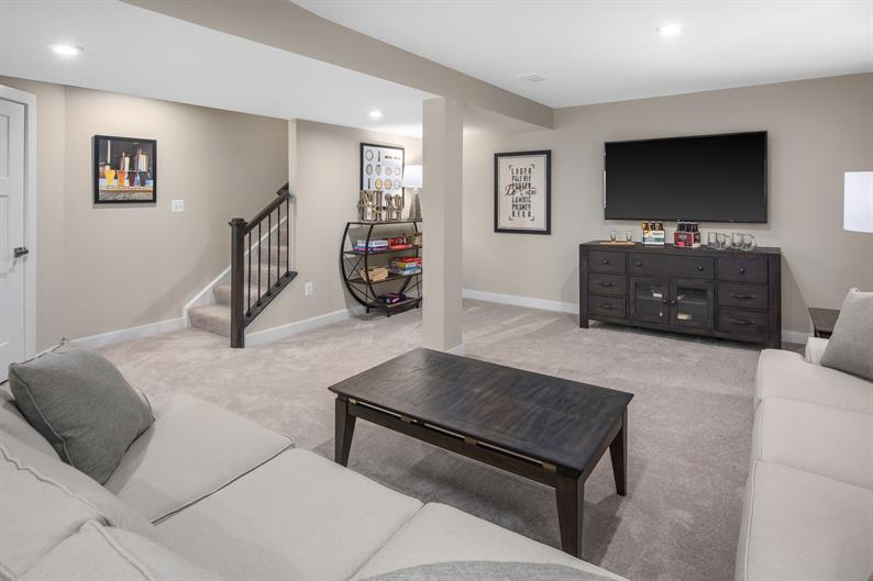 FINISH YOUR BASEMENT FOR EVEN MORE SPACE