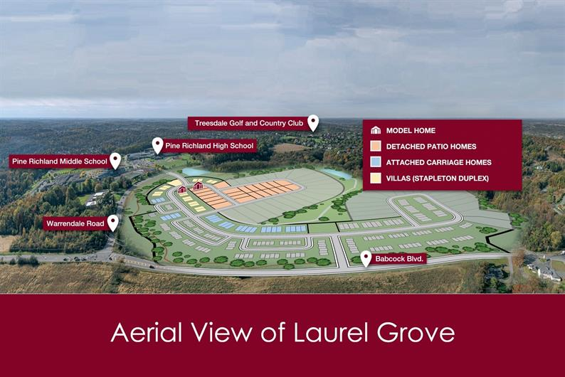 Aerial View of Laurel Grove