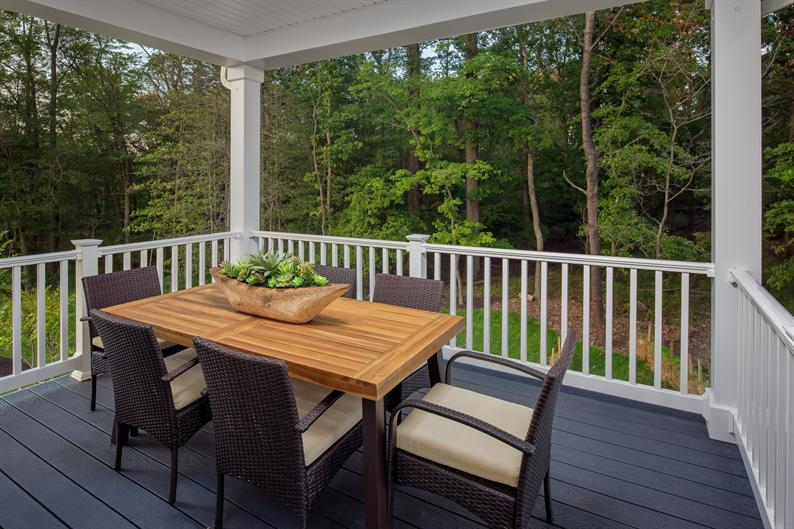 Outdoor Spaces with Rear Covered Porches