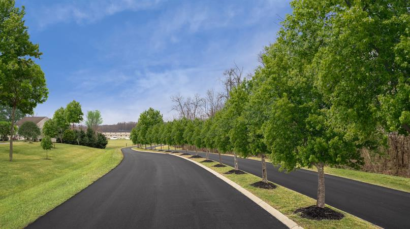 QUIET COMMUNITY WITH TREE LINED STREETS