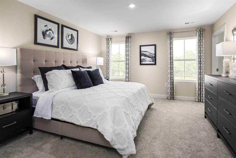 Ranch homes puts your bedroom - and everything else - on the main floor