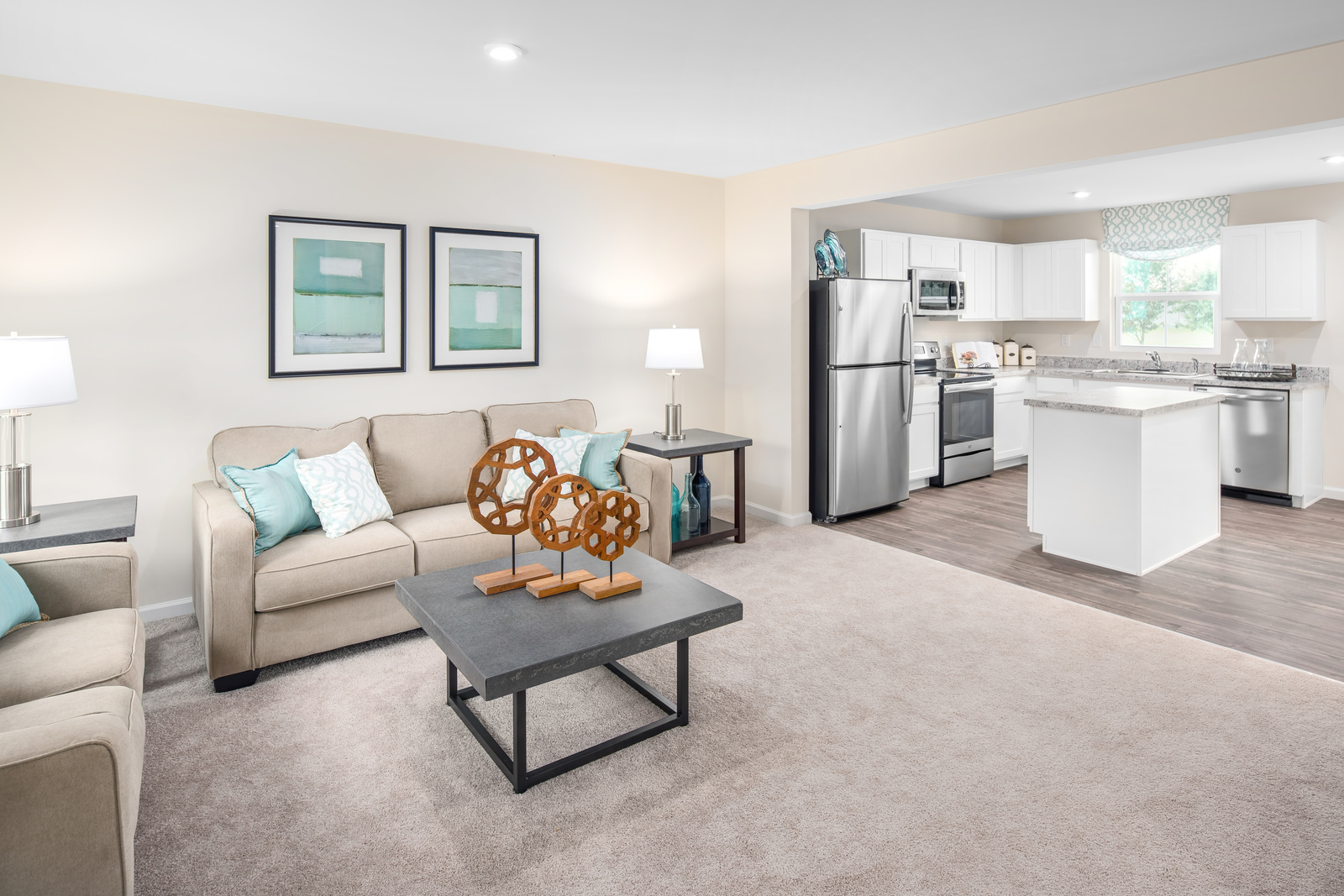 Plan 1220 at Ridgely Forest Townhomes
