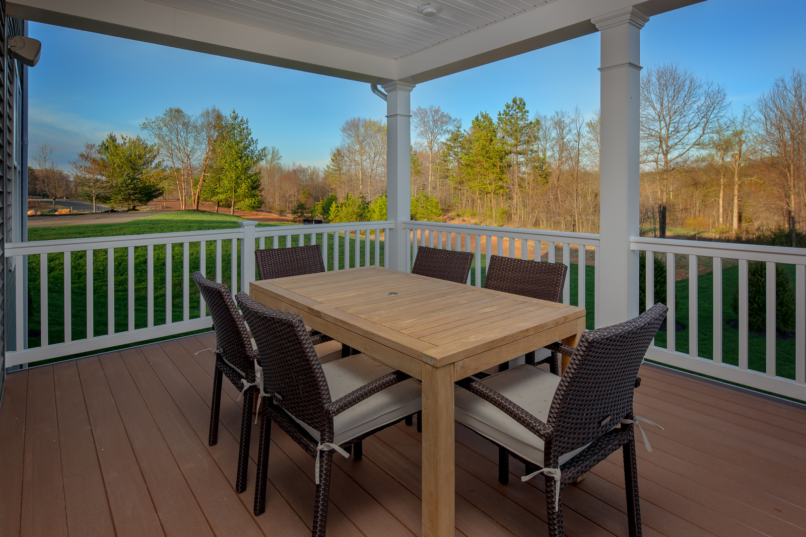 Choose a covered porch, deck or patio for outdoor entertaining!