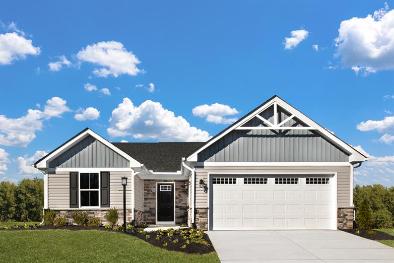 OPEN-CONCEPT RANCHES FROM 1,188 - 1,720 SQ.FT. AND UP TO 3 BEDROOMS